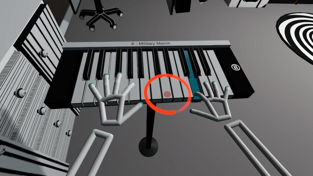 Military march on Virtual Piano