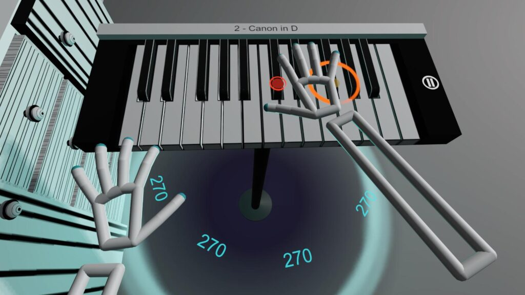 VR Pianist - game developed by a solo developer