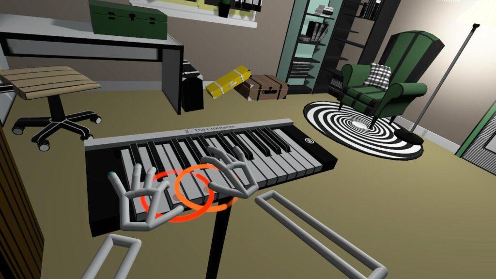 Indie VR game - VR Pianist