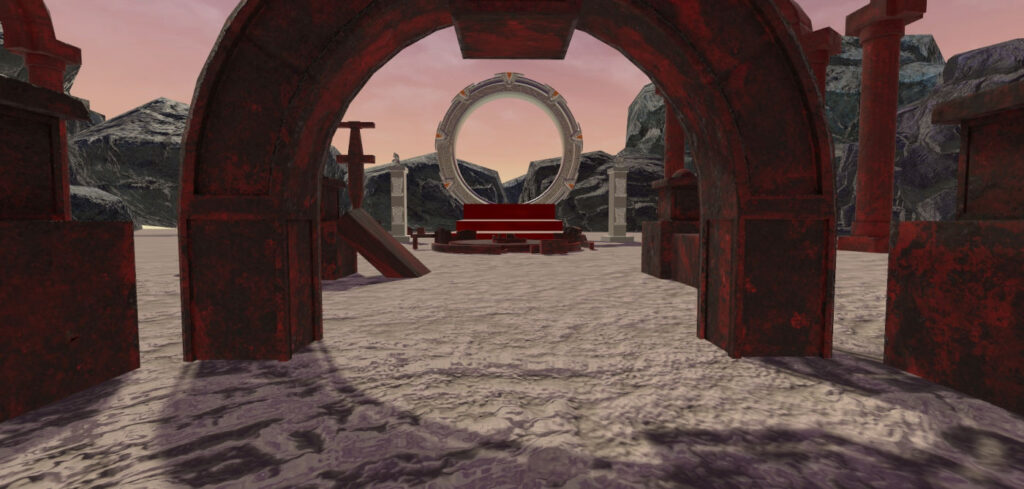 Star Gate in Virtual Reality - student's semestral work