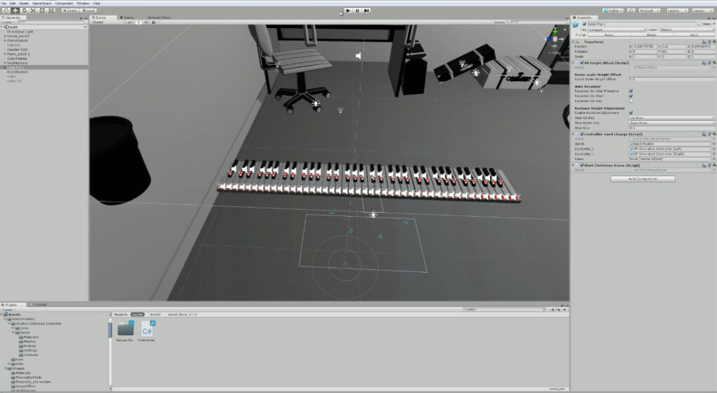 Unity game engine preview