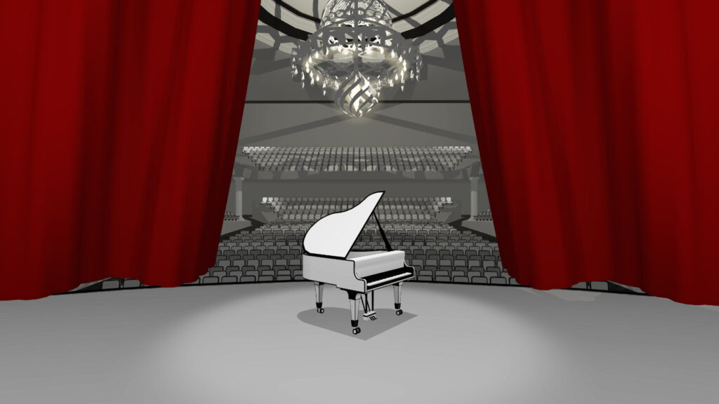 vr pianist concert hall