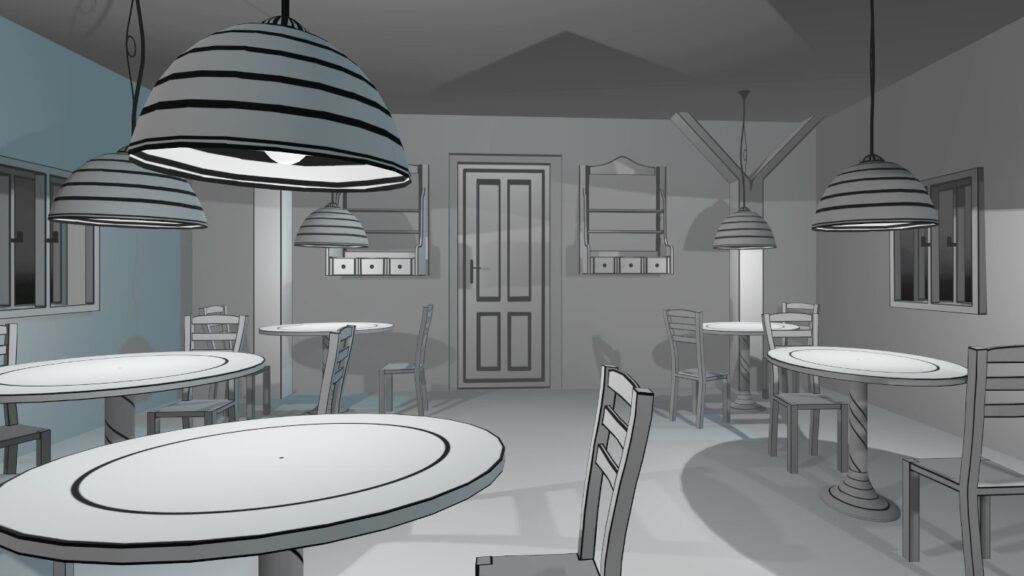 cafe of VR Pianist