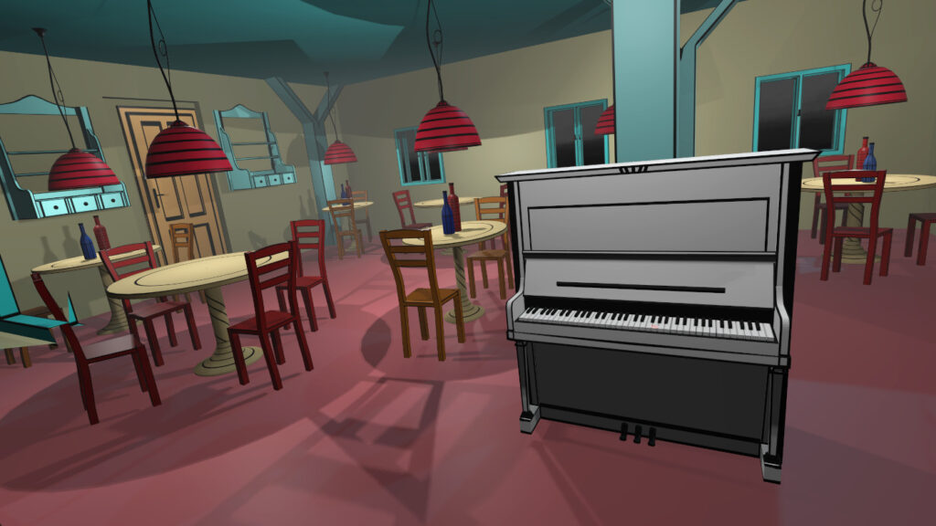VR Pianist - music game for piano players