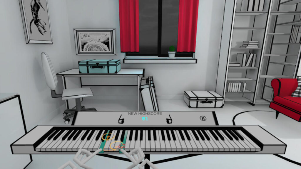 VR Pianist - VR Piano works with all common headsets