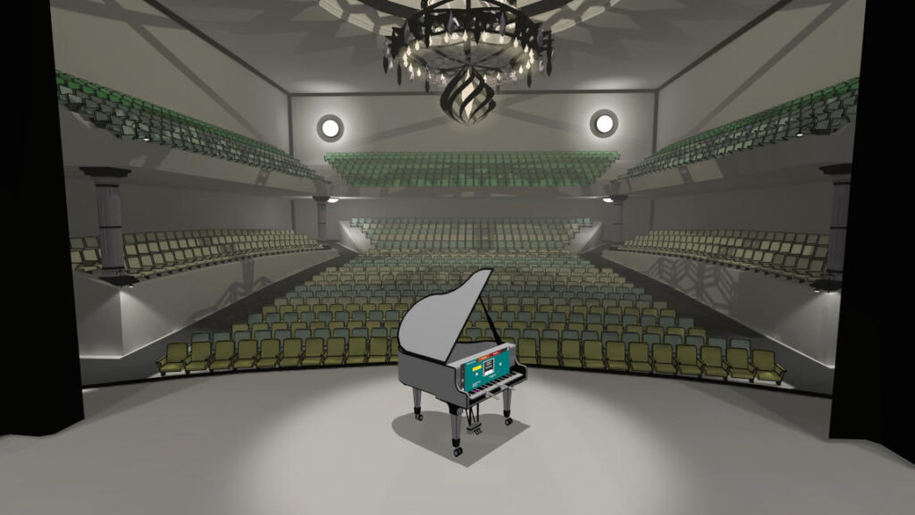 VR Pianist - color the world with your music