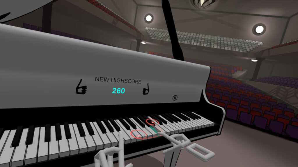 VR Pianist - game released in August 2021 as Early Access